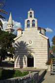Church of Holy Trinity in Budva, Montenegro — Stock Photo