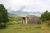Military bunker in Albania — Stock Photo