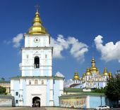 St. Michael's Golden-Domed Cathedral in Kyiv — Stock Photo