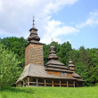 Stock Photo: Old wooden church