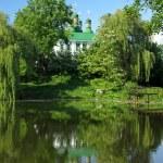 Holy Trinity Kitaevo Monastery in Kyiv — Stock Photo