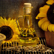Sunflower still life — Stock Photo