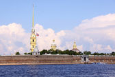 The Peter and Paul Fortress, St. Petersburg, Ru — Stock Photo