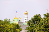View at some of Moscow Kremlin's cathedrals: Iva — Stock Photo
