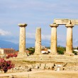 Stock Photo: Apollon temple in corinth