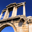 Royalty-Free Stock Photo: Hadrian\'s Arch (also known as Hadrian\'s Gate) was constru