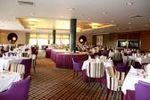Interior of modern nigt club or restaurant — Stock Photo