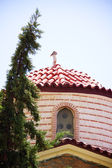 Greek orthodox monastery — Stock Photo