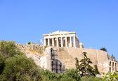 The famous parthenon monument of athens, greece — Stock Photo