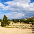 Archaeological Dig Site at Apollo Temple, Corinth, Greece. — Stock Photo #3558677