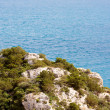 Beautiful sea coast in Greece — Stock Photo #3559023