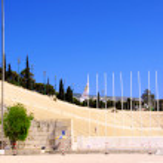The panathenaic stadium in Athens, Greece — Stock Photo #3559079