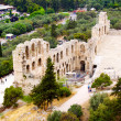 Stock Photo: Ncient theatre of Herodes Atticus is small building of ancient
