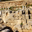 Archaeological Dig Site at Apollo Temple, Corinth, Greece. — Stock Photo #3559220