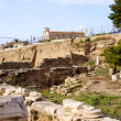 Archaeological Dig Site at Apollo Temple, Corinth, Greece. — Stock Photo #3559828