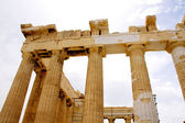 The Parthenon, in Athens Akropolis, Greece — Stock Photo