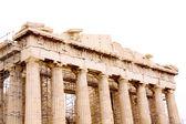 The Parthenon, in Athens Akropolis, Greece — Stock Photo