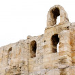 Ncient theatre of Herodes Atticus is small building of ancient — Stock Photo #3594523