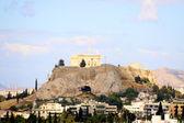 Grekiska staden, aten — Stockfoto