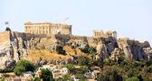 Partenon w atenach akropolis, grecja — Zdjęcie stockowe