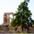 Archaeological Dig Site at Apollo Temple, Corinth, Greece. — Stock Photo #3726714