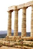 Temple of Poseidon at Cape Sounion near Athens, Greece — Stock Photo