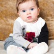 Cute baby-boy — Stock Photo