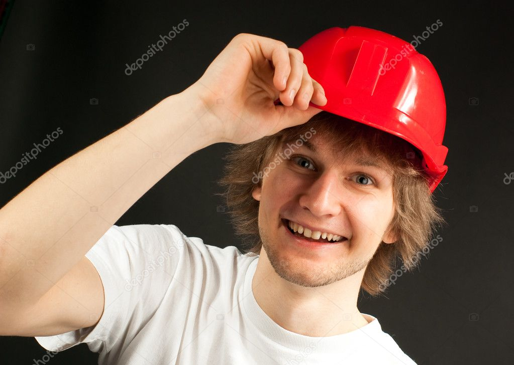depositphotos 2771006 Smiling young man in a hard hat The teenage years are some of the most volatile for young gay people and ...