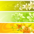 Royalty-Free Stock Obraz wektorowy: Abstract floral design.