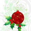 Abstract christmas vector illustration - Stock Vector