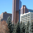 Office buildings.Calgary,Canada - Stock Photo