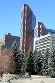 Office buildings.Calgary,Canada — Stock Photo