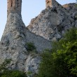 Devin castle ruins  - by Bratislava. - Stock Photo