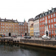Copenhagen - houses.Denmark — Stock Photo