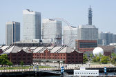 Yokohama skyline, Japan — Stock Photo