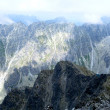 Mountains landscape.High Tatras Slovakia — Stockfoto