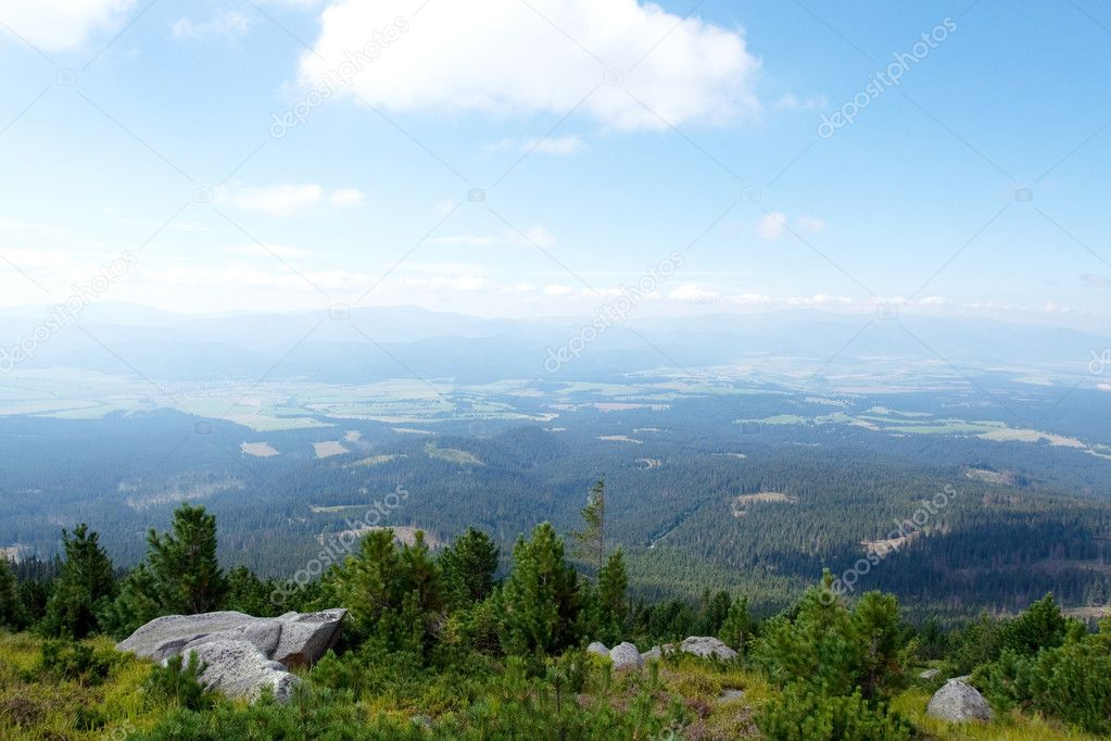 Mountains landscape.High Tatras Slovakia  Stock Photo #2900722