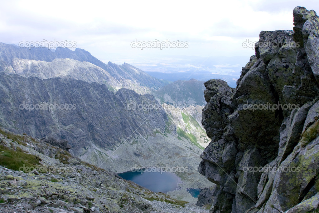 Mountains landscape.High Tatras Slovakia — Foto de Stock   #2903403