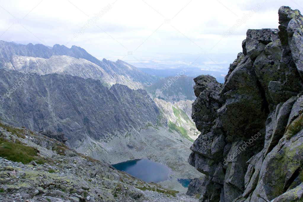 Mountains landscape.High Tatras Slovakia — Stockfoto #2903403