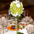 Food at banquet table — Stock Photo #3137559