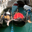 Stock Photo: Venice Gondolas