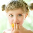 Close-up portrait of a girl — Stock Photo #3433920