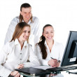 Stock Photo: Contemporary business team