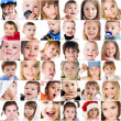 Photos of cute little children - Stock Photo