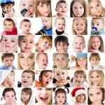 Photos of cute little children — Stock Photo