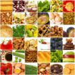 Variegated foodstuffs - Stock Photo