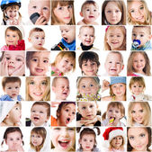 Photos of cute little children — Stock Photo