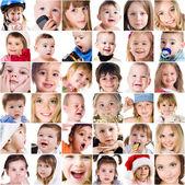 Sevimli küçük çocukların fotoğrafları — Stok fotoğraf