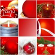 Christmas composition — Foto Stock