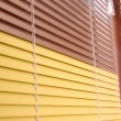 Horizontal blinds - Stock Photo